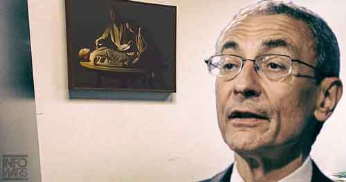 Podesta Oil Painting Cannibalism